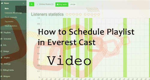 How to Schedule Playlist in Everestcast Pro Control Panel